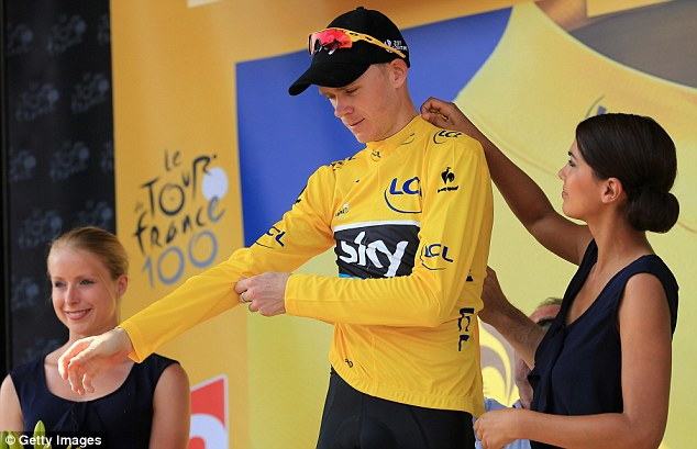 Froome in a Hat